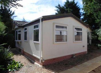 Thumbnail 2 bedroom mobile/park home for sale in The Park, Ranksborough Hall, Langham, Oakham