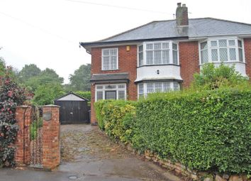 Thumbnail 3 bed semi-detached house for sale in Greys Road, Woodthorpe, Nottingham