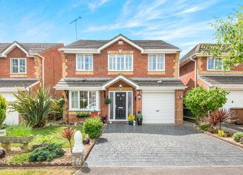 Thumbnail 4 bed detached house for sale in Chambers Close, Nursling, Southampton