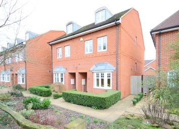 Thumbnail 4 bedroom semi-detached house for sale in Skylark Way, Shinfield, Reading