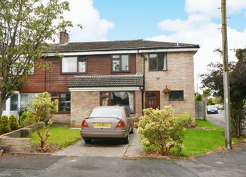 Thumbnail 3 bed semi-detached house for sale in Glastonbury Avenue, Cheadle Hulme, Cheadle
