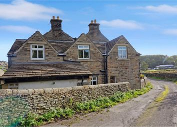 Thumbnail 4 bed cottage for sale in New Hey Moor Houses, Shepley