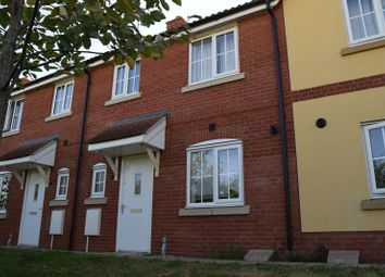 Thumbnail 3 bedroom terraced house to rent in Bluebell Walk, Eynesbury, St. Neots