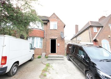 Thumbnail 3 bed semi-detached house for sale in Western Avenue, East Acton