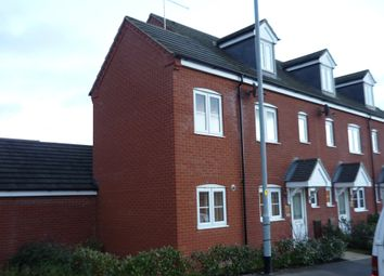 Thumbnail 3 bed end terrace house to rent in Kent Road, Northampton, Northamptonshire