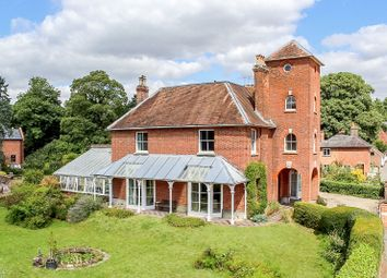 Thumbnail 5 bed detached house for sale in Station Road, Woolhampton, Reading