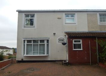 Thumbnail 4 bed semi-detached house for sale in Redbrook Covert, Birmingham
