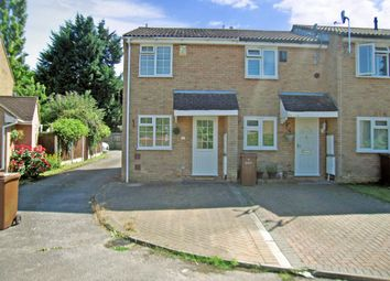 Thumbnail 2 bed end terrace house to rent in Croydon Close, Chatham