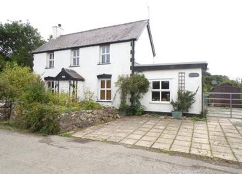 Thumbnail 3 bed detached house for sale in Saron, Caernarfon, Gwynedd