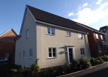 Thumbnail 4 bedroom detached house for sale in Ellisons Crescent, Ipswich