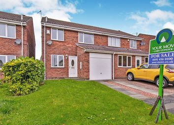 Thumbnail 3 bed terraced house for sale in Swirral Edge, Washington