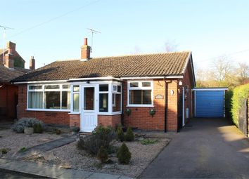 Thumbnail 2 bedroom detached bungalow for sale in Church Drive, Gilmorton, Lutterworth