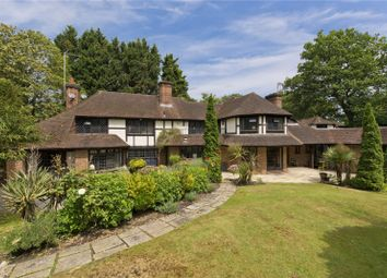 Thumbnail 5 bed detached house to rent in Silverdale Avenue, Ashley Park, Walton-On-Thames, Surrey