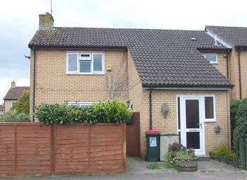 Thumbnail 1 bed maisonette to rent in Waterside Close, Bewbush, Crawley, West Sussex