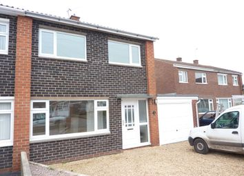 Thumbnail 3 bedroom semi-detached house to rent in Mawley Close, Shrewsbury