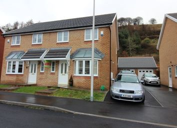 Thumbnail 3 bed semi-detached house for sale in Larch Lane, Tredegar