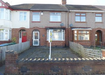 Thumbnail 3 bedroom terraced house for sale in Cheveral Avenue, Coventry