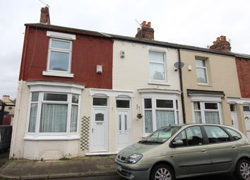 Thumbnail 2 bedroom end terrace house for sale in Kildare Street, Middlesbrough