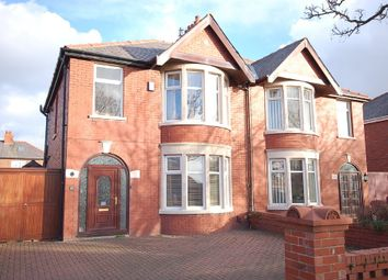 Thumbnail 3 bedroom semi-detached house for sale in Harrington Avenue, Blackpool