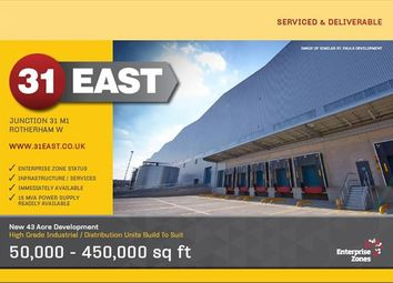 Thumbnail Light industrial for sale in 31 East, Todwick Road, Rotherham