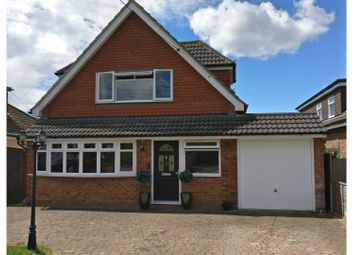 Thumbnail 4 bed detached house for sale in Kit Hill Avenue, Chatham