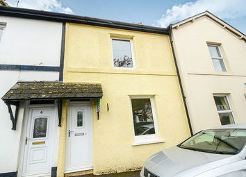 Thumbnail 2 bed terraced house for sale in Mile End Road, Newton Abbot