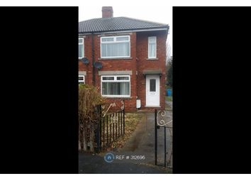 Thumbnail 2 bed semi-detached house to rent in Worcester Road, Hull