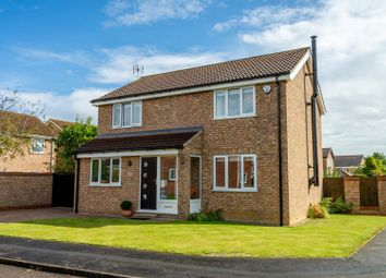 Thumbnail 3 bed detached house for sale in Hobson Close, Copmanthorpe, York