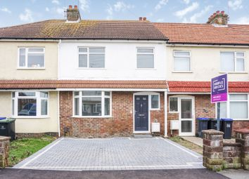 Thumbnail 3 bed terraced house for sale in Third Avenue, Lancing
