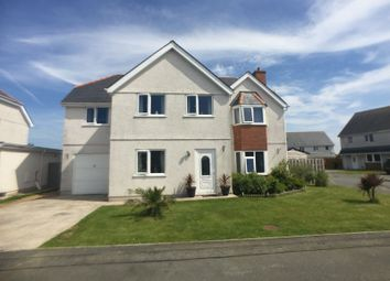 Thumbnail 4 bed detached house for sale in Llys Yr Engan, Bodedern, Holyhead, Anglesey.