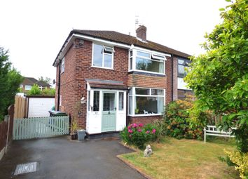 Thumbnail 3 bed semi-detached house for sale in Edale Close, Hazel Grove, Stockport