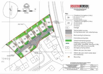 Thumbnail Land for sale in Building Plots, The Paddock, Tenby, Pembrokeshire