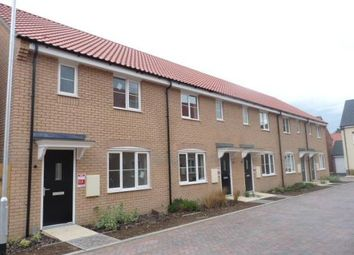 Thumbnail 3 bedroom terraced house to rent in Teasel Close, Red Lodge