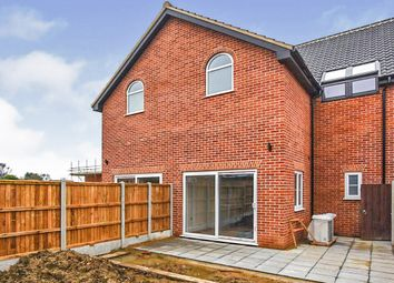 Thumbnail 3 bed semi-detached house for sale in School Road, Reepham, Norwich
