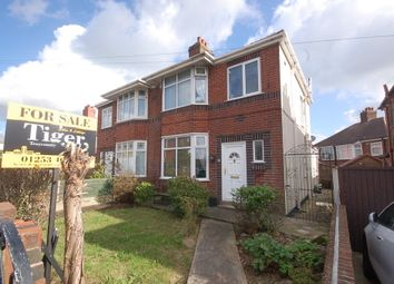 Thumbnail 3 bed semi-detached house for sale in St. Bernard Avenue, Blackpool
