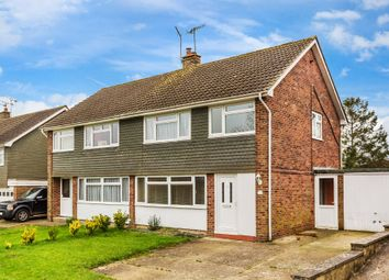 Thumbnail 3 bed semi-detached house for sale in Hunters Chase, South Godstone, Godstone, Surrey