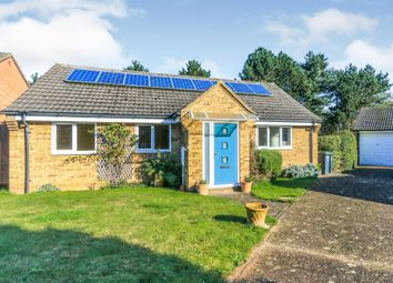 Thumbnail 3 bedroom detached bungalow for sale in Bramley Close, Rushden