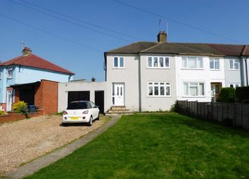 Thumbnail 3 bed end terrace house for sale in Mount Road, Chessington
