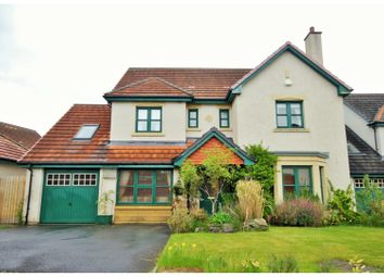 Thumbnail 4 bedroom detached house for sale in Leeburn View, Peebles