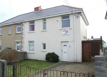 Thumbnail 3 bed semi-detached house to rent in Nelson Avenue, Hakin, Milford Haven