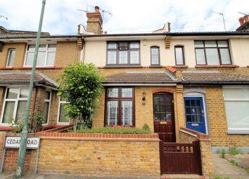 Thumbnail 2 bed terraced house for sale in Cedar Road, Slade Green, Kent