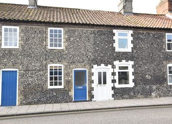Thumbnail 2 bed terraced house to rent in Earls Street, Thetford, Norfolk