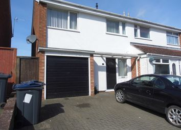 Thumbnail 3 bed semi-detached house to rent in Wood Lane, Bartley Green, Birmingham