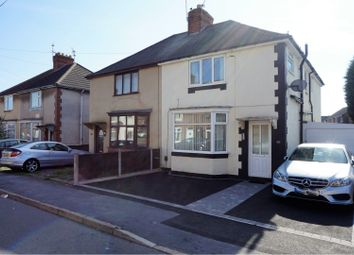Thumbnail 3 bed semi-detached house for sale in Waterworks Road, Coalville