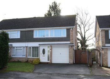 Thumbnail 3 bedroom semi-detached house for sale in Swallow Close, Tilehurst, Reading