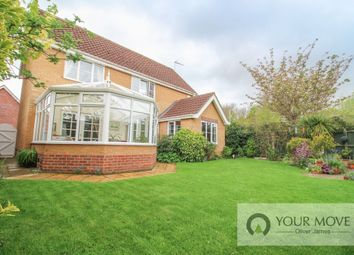Thumbnail 4 bed detached house for sale in Cedar Drive, Worlingham, Beccles