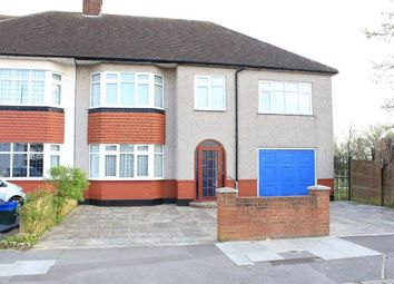 Thumbnail 5 bed semi-detached house for sale in Newcastle Avenue, Ilford