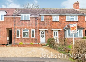 Thumbnail 3 bed terraced house for sale in Cox Lane, West Ewell, Epsom