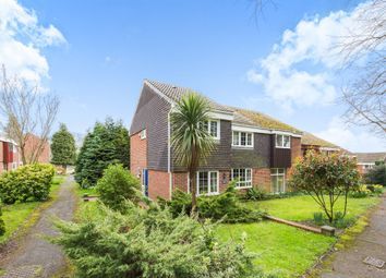 Thumbnail 4 bedroom semi-detached house for sale in Holmesland Walk, Botley, Southampton
