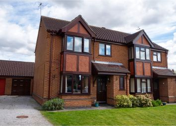 Thumbnail 3 bed semi-detached house for sale in Brookfield Close, Lincoln